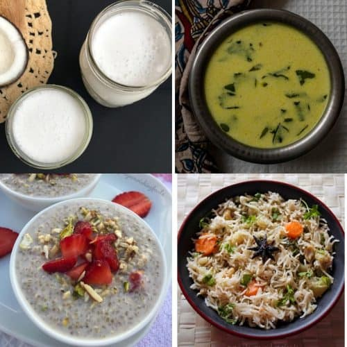 How to make coconut milk and vegetarian recipes using coconut milk