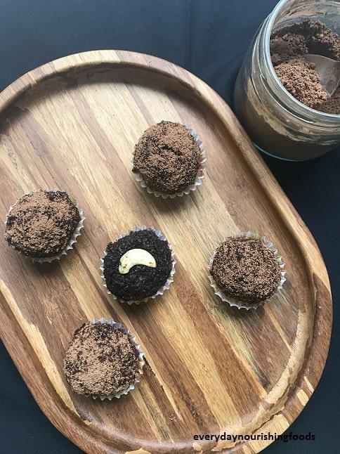 Coconut palm jaggery ladoo recipe