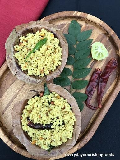 Millet lemon rice recipe