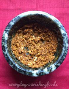 Dosakaya roti pachadi chutney making