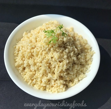 How to cook fluffy millets