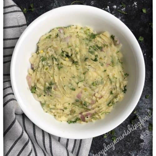 Aloo Choka - Mashed potatoes
