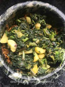 Amaranth leaves chutney recipe