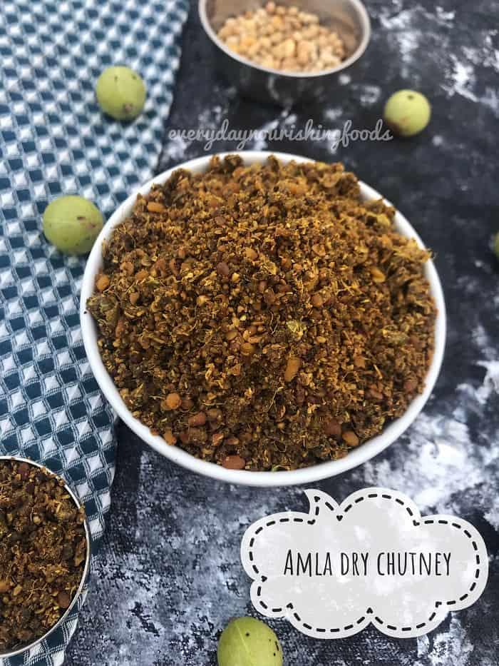 Amla dry chutney powder – Usiri Karam Podi