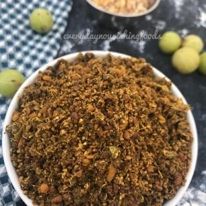 Amla dry chutney powder recipe