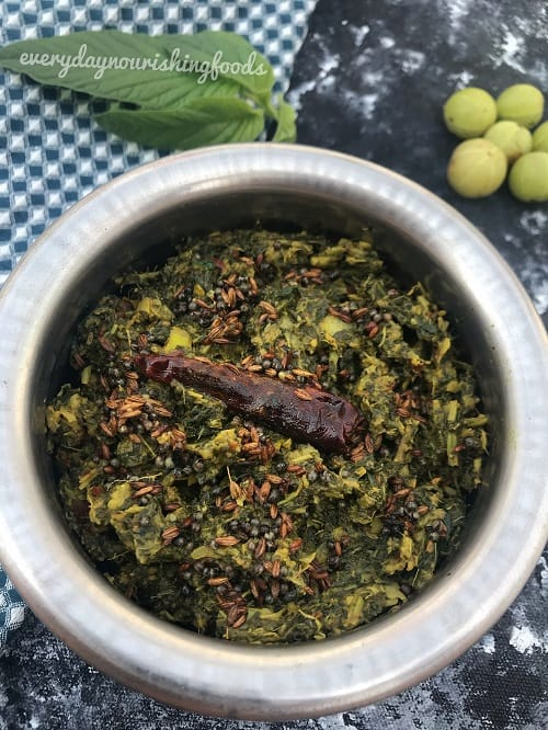 Amaranth leaves chutney recipe