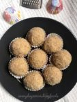 Coconut rava ladoo recipe