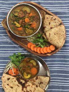 vegetable rajma curry