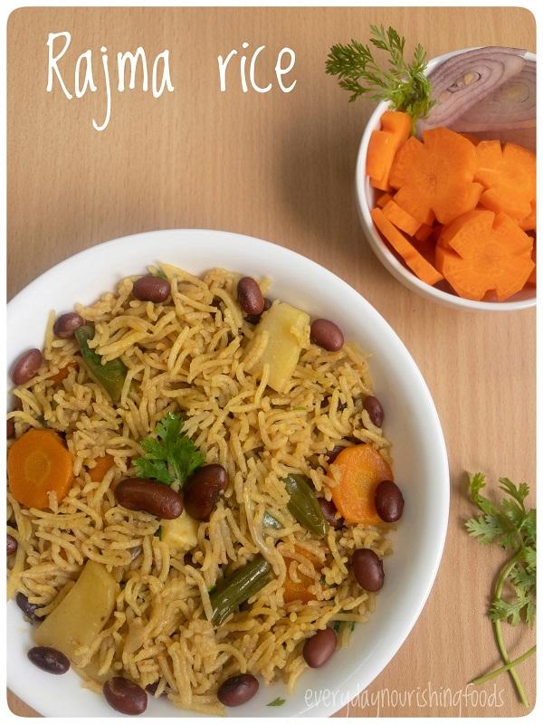 rajma rice recipe