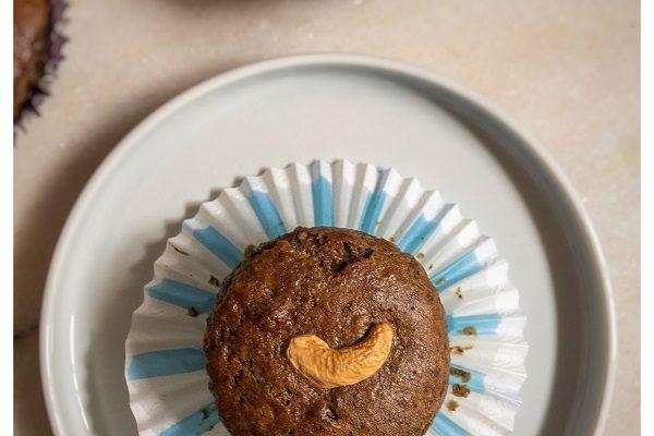 Banana passion fruit muffins (Vegan and gluten-free)