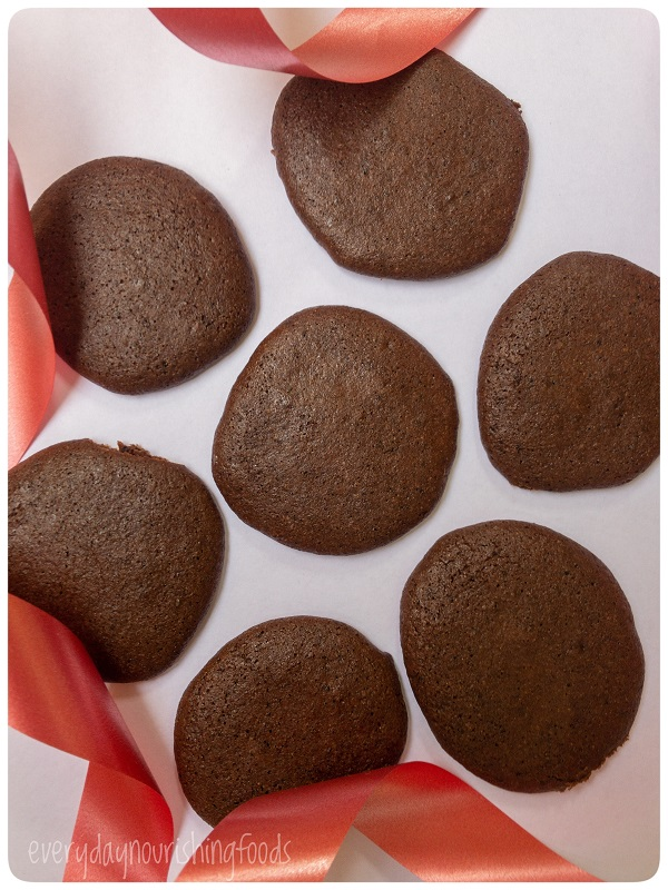 Buckwheat chocolate cookies