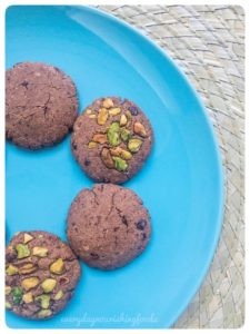 Millet chocolate cookies recipe
