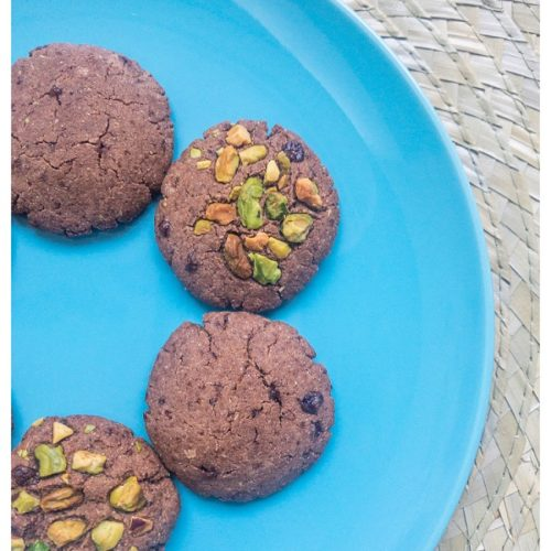 Millet chocolate cookies recipe