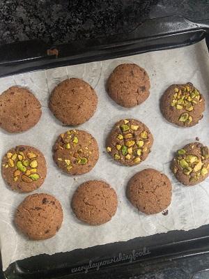 Baked Millet cookies