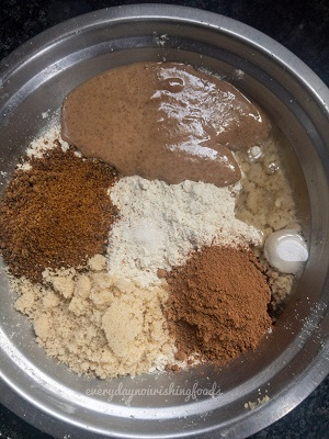 millet chocolate cookies ingredients