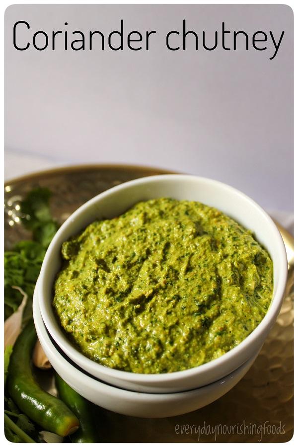 coriander chutney recipe