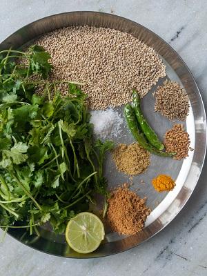 coriander chutney ingredients