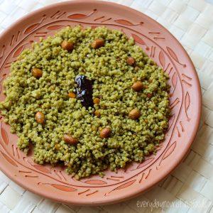 Millet gongura rice recipe image