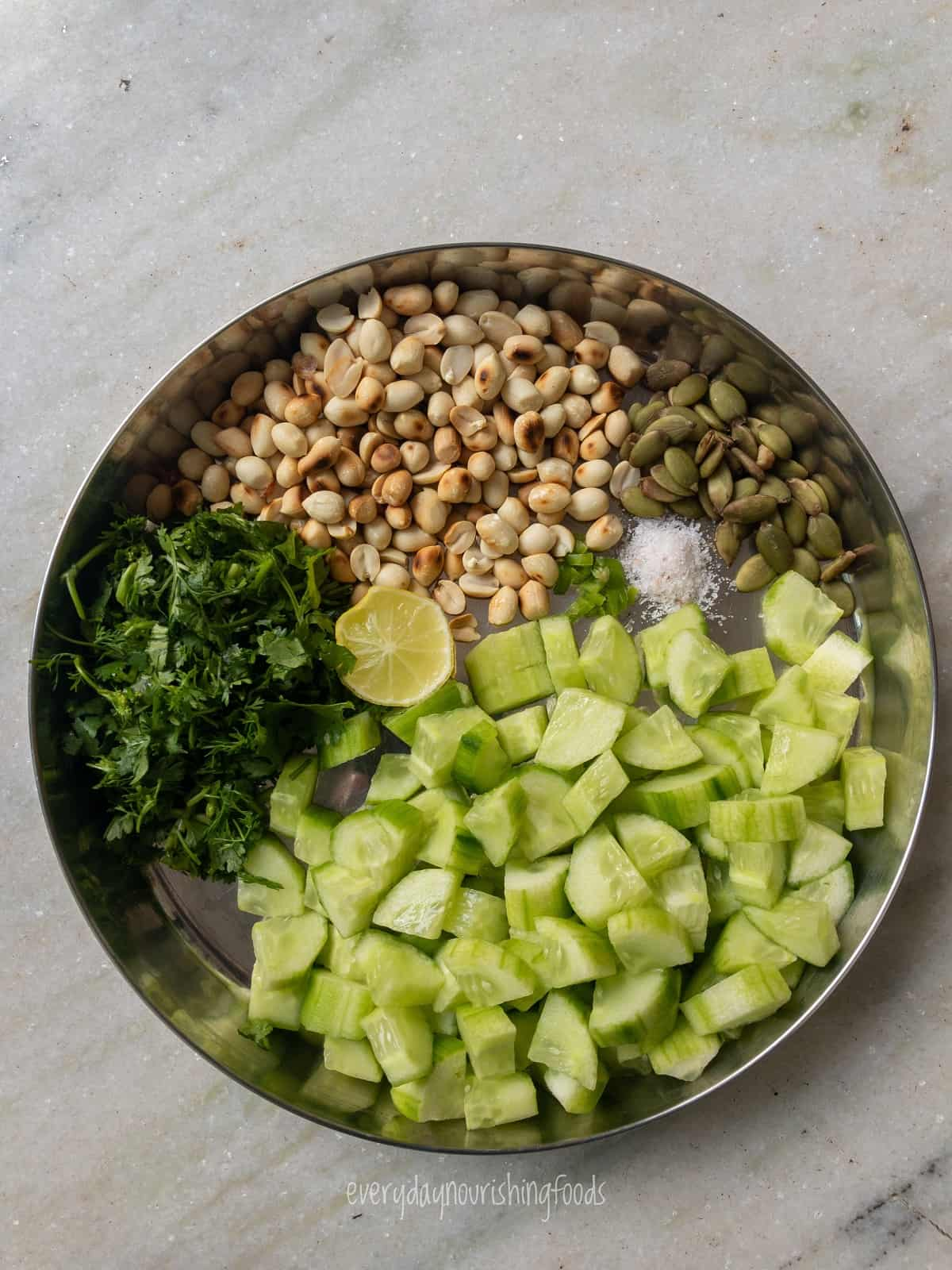 peanut cucumber salad ingredients