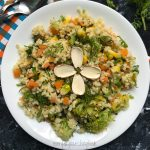 millet salad recipe featured image