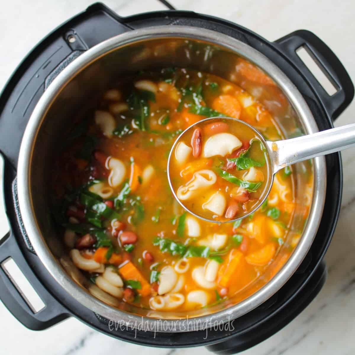 pasta e fagioli in an instant pot