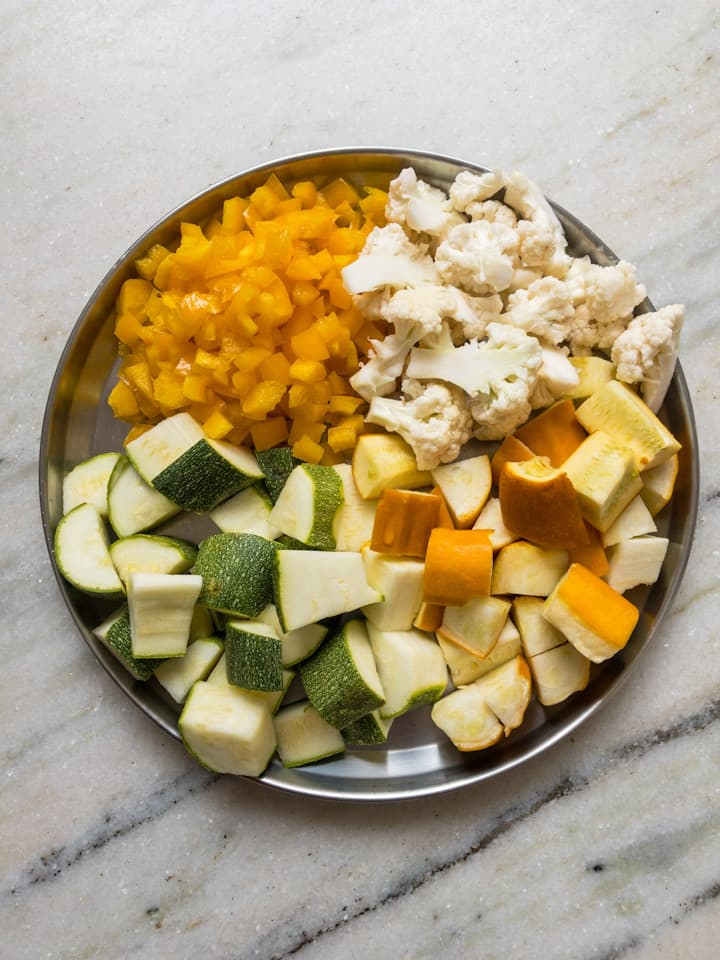 veggies for instant pot curry